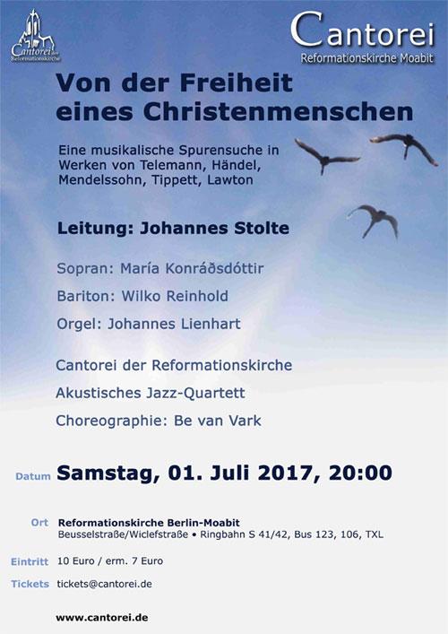 Konzert Einladung 01.07.2017